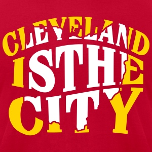 Cleveland The City T-Shirts - Men's T-Shirt by American Apparel