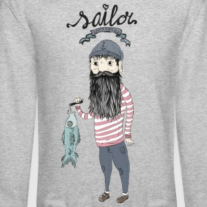 Seaman Long Sleeve Shirts - Crewneck Sweatshirt