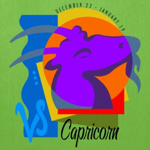 Capricorn Sign Bags & backpacks - Tote Bag
