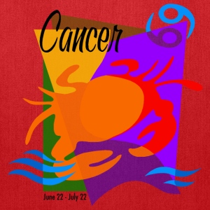 Cancer Sign Bags & backpacks - Tote Bag