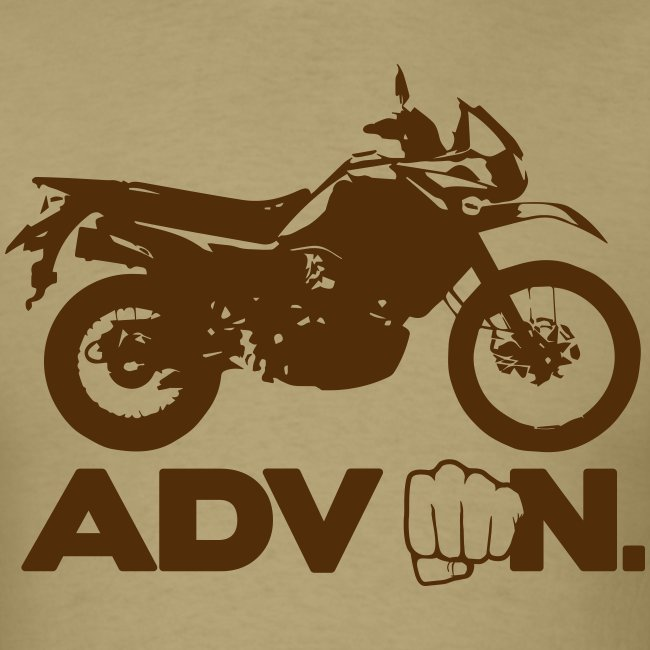 """Trusty ADV On"" - Brown Logo"