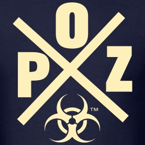 POZ BIO HAZARD WARRIOR - Men's T-Shirt