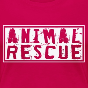 Animal Rescue - Women's Premium T-Shirt