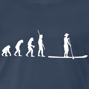 Evolution Stand up Paddling Shirt - Men's Premium T-Shirt