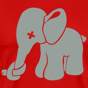Elephant with nose Zuer Shirt - Men's Premium T-Shirt