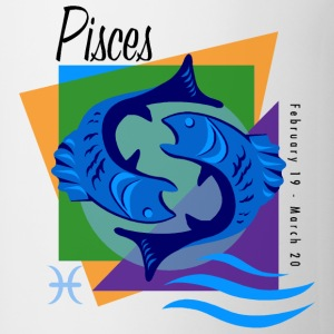 Pisces Sign Bottles & Mugs - Coffee/Tea Mug