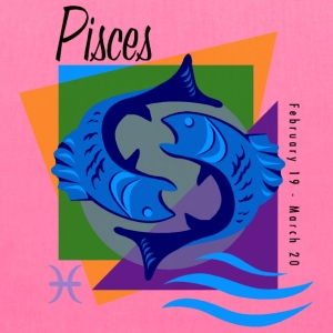 Pisces Sign Bags & backpacks - Tote Bag
