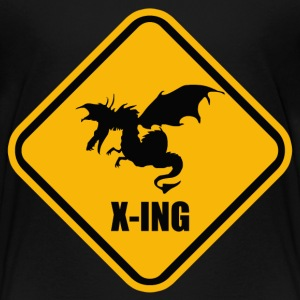 Dragon Crossing - Kids' Premium T-Shirt