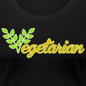Vegetarian - Women's Premium T-Shirt