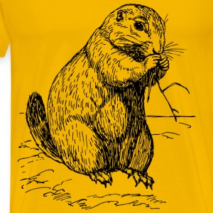 prairie dog - Men's Premium T-Shirt