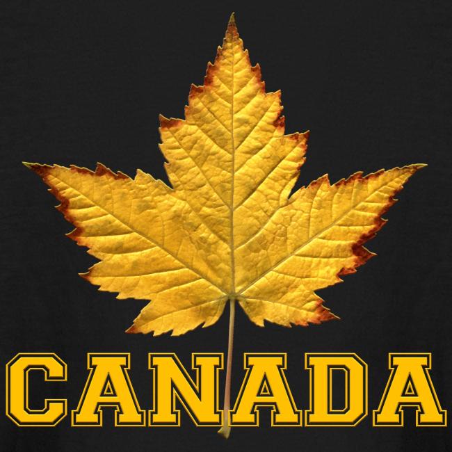 Kid's Canada Shirt Sporty Canada Varsity Shirts