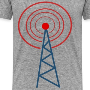 radio tower - Men's Premium T-Shirt