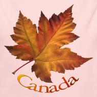 Design ~ Canada Souvenir Baby Creeper Canada Maple Leaf Baby One-piece