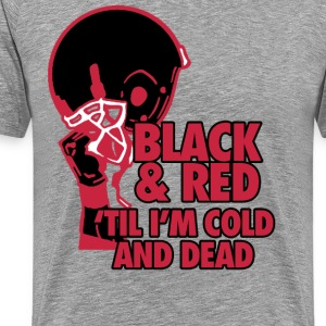 Black & Red T-Shirts - Men's Premium T-Shirt