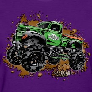 Over Budget Mud Truck Women's T-Shirts - Women's T-Shirt