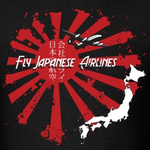 Japanese Airlines Vintage T-Shirts - Men's T-Shirt