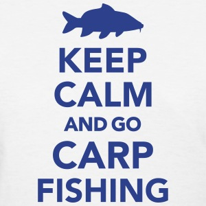 Keep calm and Carp Fishing Women's T-Shirts - Women's T-Shirt