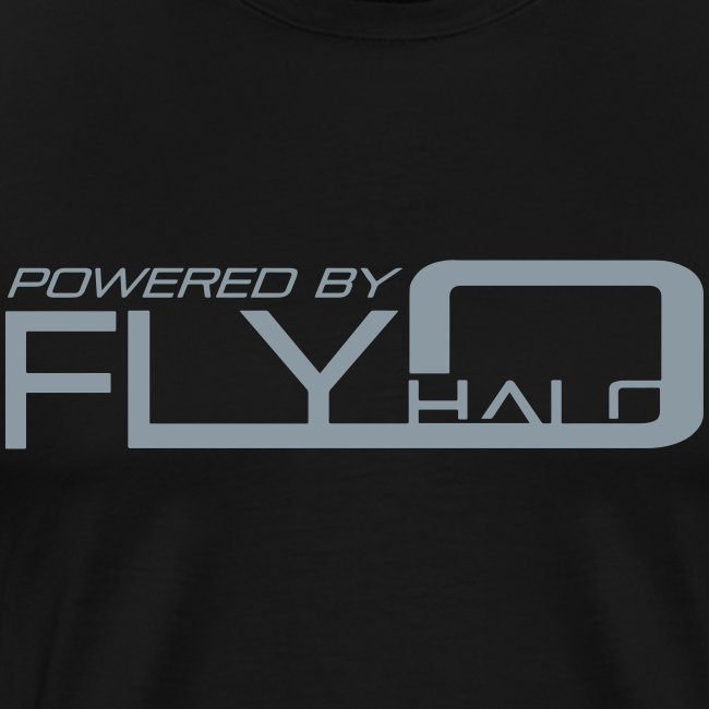 Powered By Fly Halo - Red