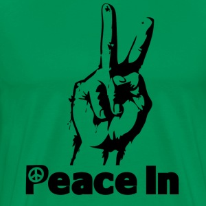 Peace In  - Men's Premium T-Shirt