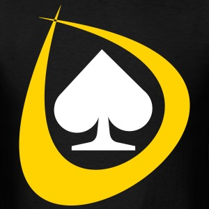 Poker Spades T-Shirts - Men's T-Shirt