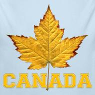 Design ~ Toddler Canada Creeper Canada Maple Leaf Baby Gift