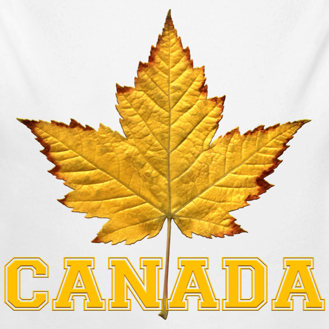 Toddler Canada Creeper Canada Maple Leaf Baby Gift