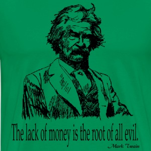 The Root Of All Evil T-Shirts - Men's Premium T-Shirt