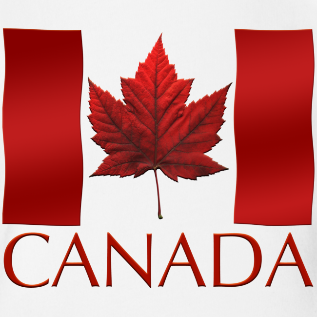 Canada Flag Souvenir Baby Creeper Canadian Souvenir Baby Romper