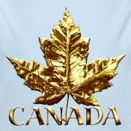 Design ~ Baby Canada Romper Baby Toddler Gold Canada Souvenir One-Piece