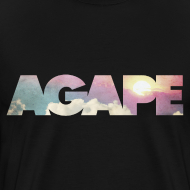 Design ~ AGAPE (Clouds) shirt