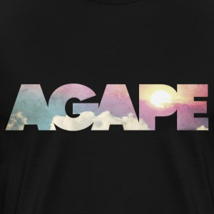 AGAPE (Clouds) T-Shirts - Men's Premium T-Shirt