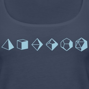 Dice Evolution d20 Dungeons & Dragons - Women's Premium Tank Top