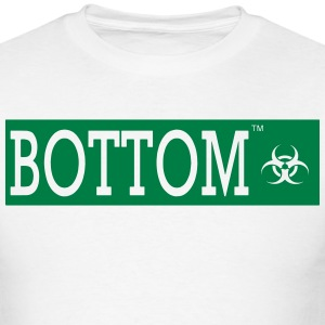 BOTTOM BIO HAZARD - Men's T-Shirt