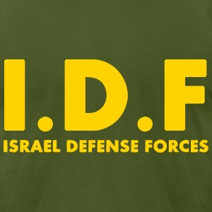 IDF Israel Defense Forces ENG - Men's T-Shirt by American Apparel
