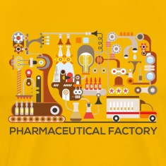 pharmaceutical-factory T-Shirts