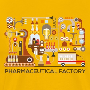 pharmaceutical-factory T-Shirts - Men's Premium T-Shirt