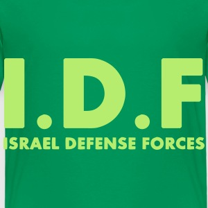 IDF Israel Defense Forces ENG - Toddler Premium T-Shirt
