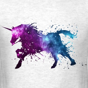 unicorn space - Men's T-Shirt