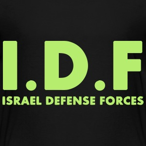 IDF Israel Defense Forces ENG - Kids' Premium T-Shirt
