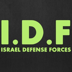 IDF Israel Defense Forces ENG - Tote Bag