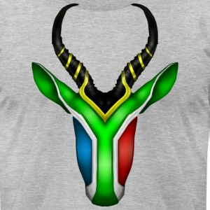 South African Springbok 2 T-Shirts - Men's T-Shirt by American Apparel