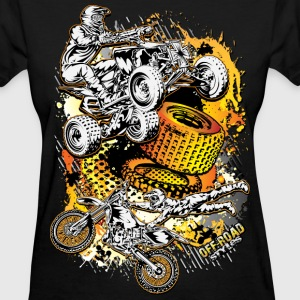 FMX Freestyle Abstract Women's T-Shirts - Women's T-Shirt