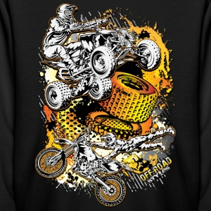 FMX Freestyle Abstract Kids' Shirts - Kids' Long Sleeve T-Shirt