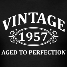 Vintage 1957 Aged to Perfection T-Shirts