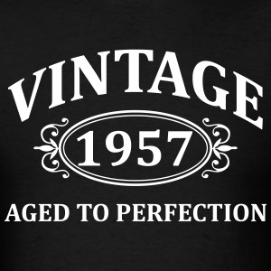 Vintage 1957 Aged to Perfection T-Shirts - Men's T-Shirt