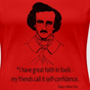 Faith In Fools Women's T-Shirts - Women's Premium T-Shirt