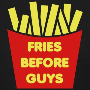 Fries Before Guys Women's T-Shirts - Women's T-Shirt