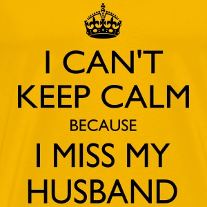 Miss my husband - Men's Premium T-Shirt
