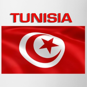 Flag Of Tunisia Bottles & Mugs - Coffee/Tea Mug