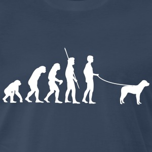 Evolution Dog Shirt - Men's Premium T-Shirt